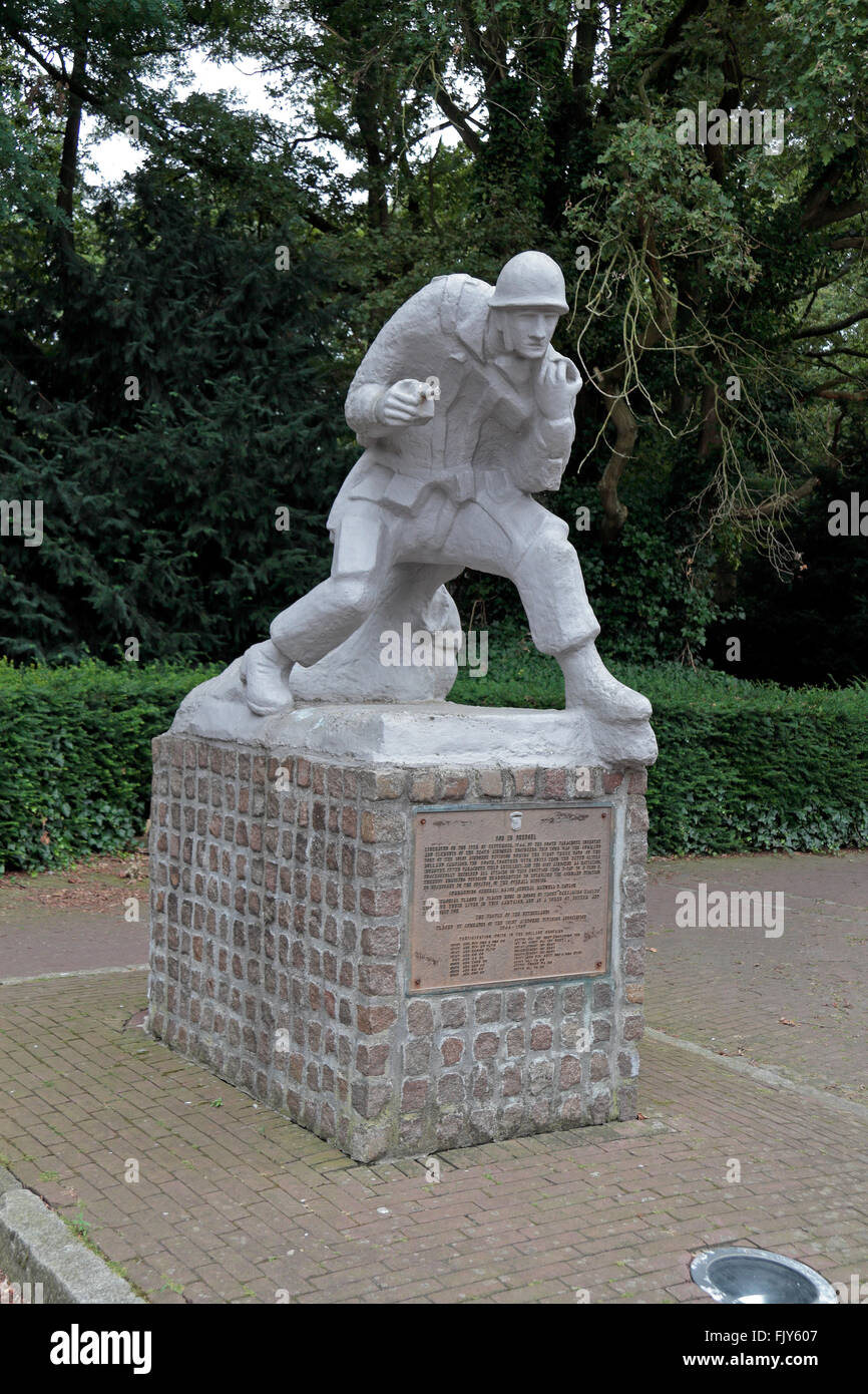 The Son Airborne Memorial To 101st AB Division North Brabant Netherlands