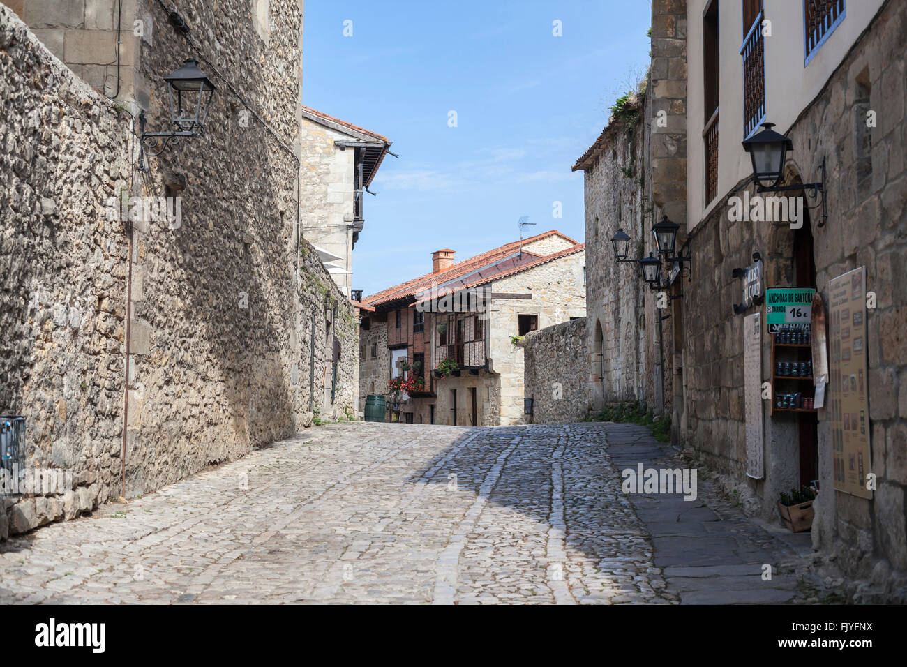 Santillana del Mar,Cantabria,Spain. - Stock Image