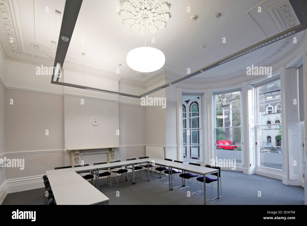 Tyndalls Park Road, Refurbishment Of University Teaching And Administration  Spaces. Plasterwork Ceiling.