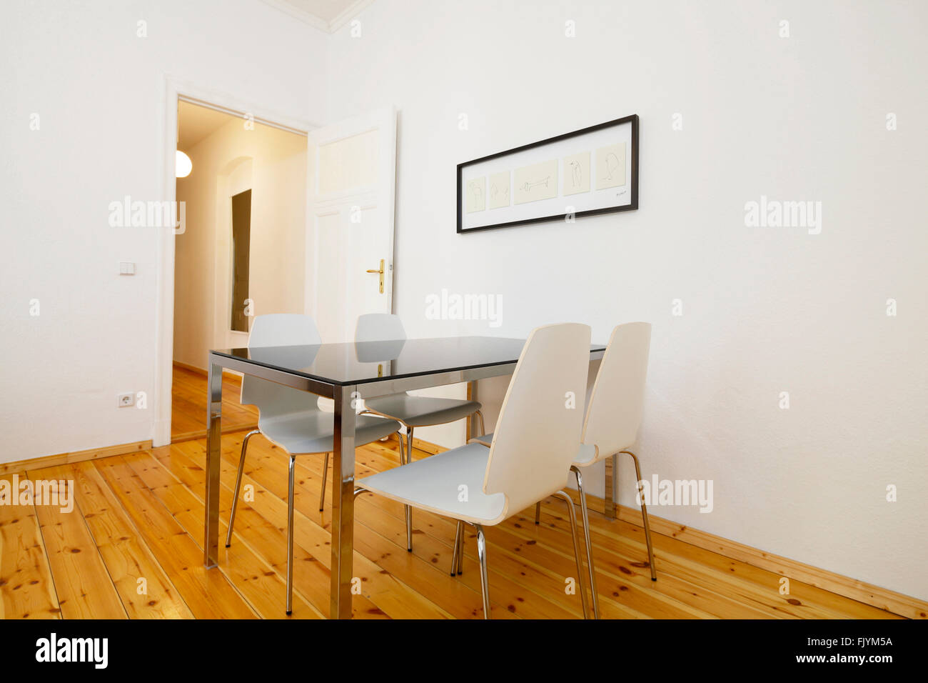 Wisbyer Strasse, Meyerheimstrasse, Furnished Apartments. - Stock Image