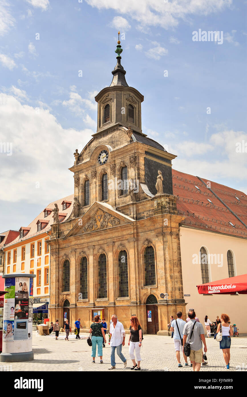 BAYREUTH, GERMANY - CIRCA JULY 2012: City during the Richard-Wagner-Festival in Bayreut, Germany on July, 2012. - Stock Image