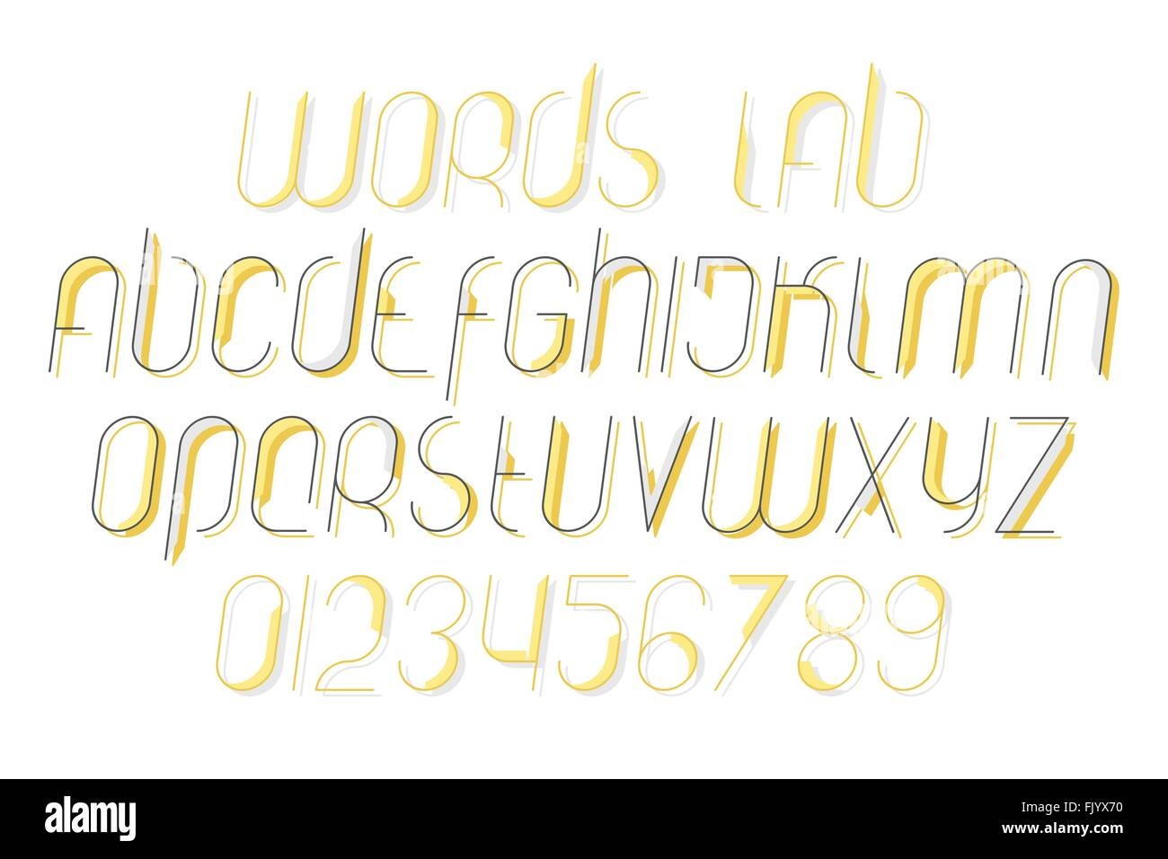2019 year for women- Text stylish alphabets