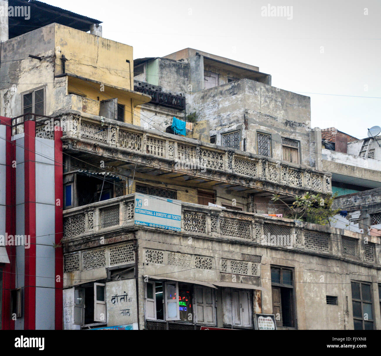 Poor Apartments: Poor Houses In India Stock Photos & Poor Houses In India