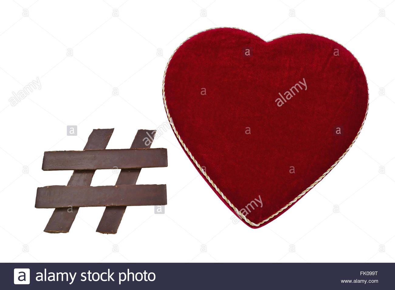 Heart Social Media Symbol Stock Photos Heart Social Media Symbol