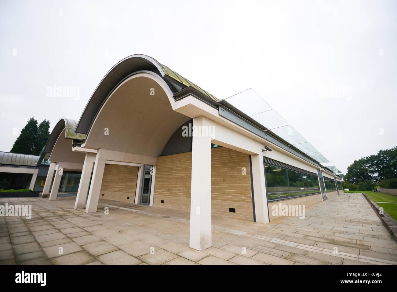 Kew Millenium Seedbank, West Sussex, UK. External view of Millennium seed bank visitor's centre. - Stock Image
