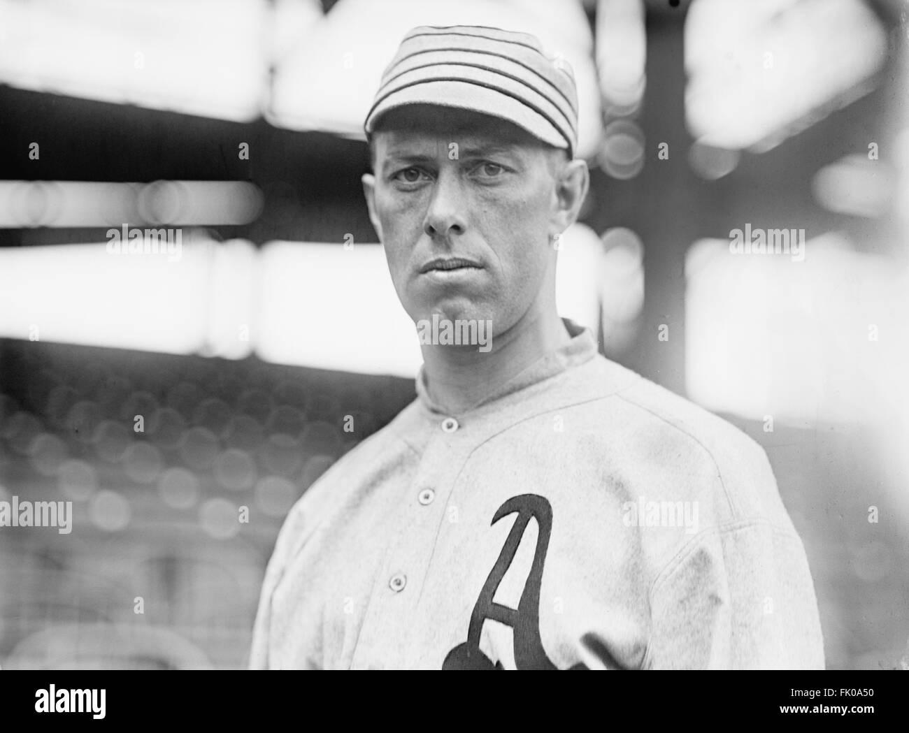 Jack Coombs, Major League Baseball Player, Philadelphia Athletics, Portrait, circa 1914.jpg - Stock Image
