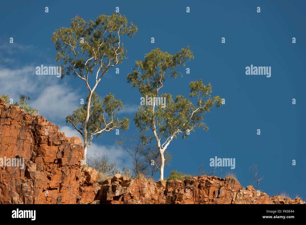 Ormiston Gorge West MacDonnell Ranges Alice Springs - Stock Image