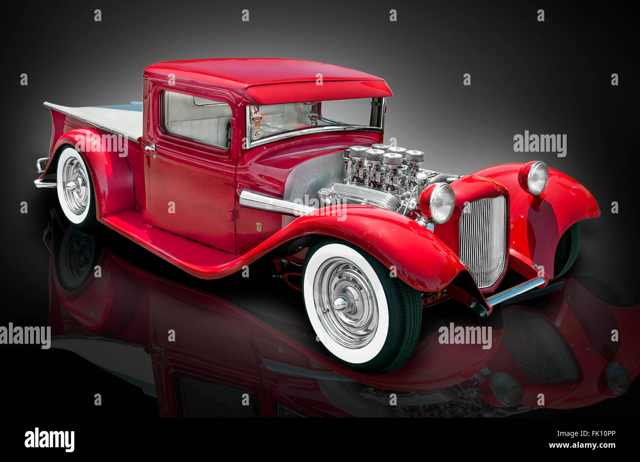Ford Pickup Stock Photos Images Alamy 1951 1952 Hot Rod Truck Pics A Studio Style Photo Of 1934 Custom Image