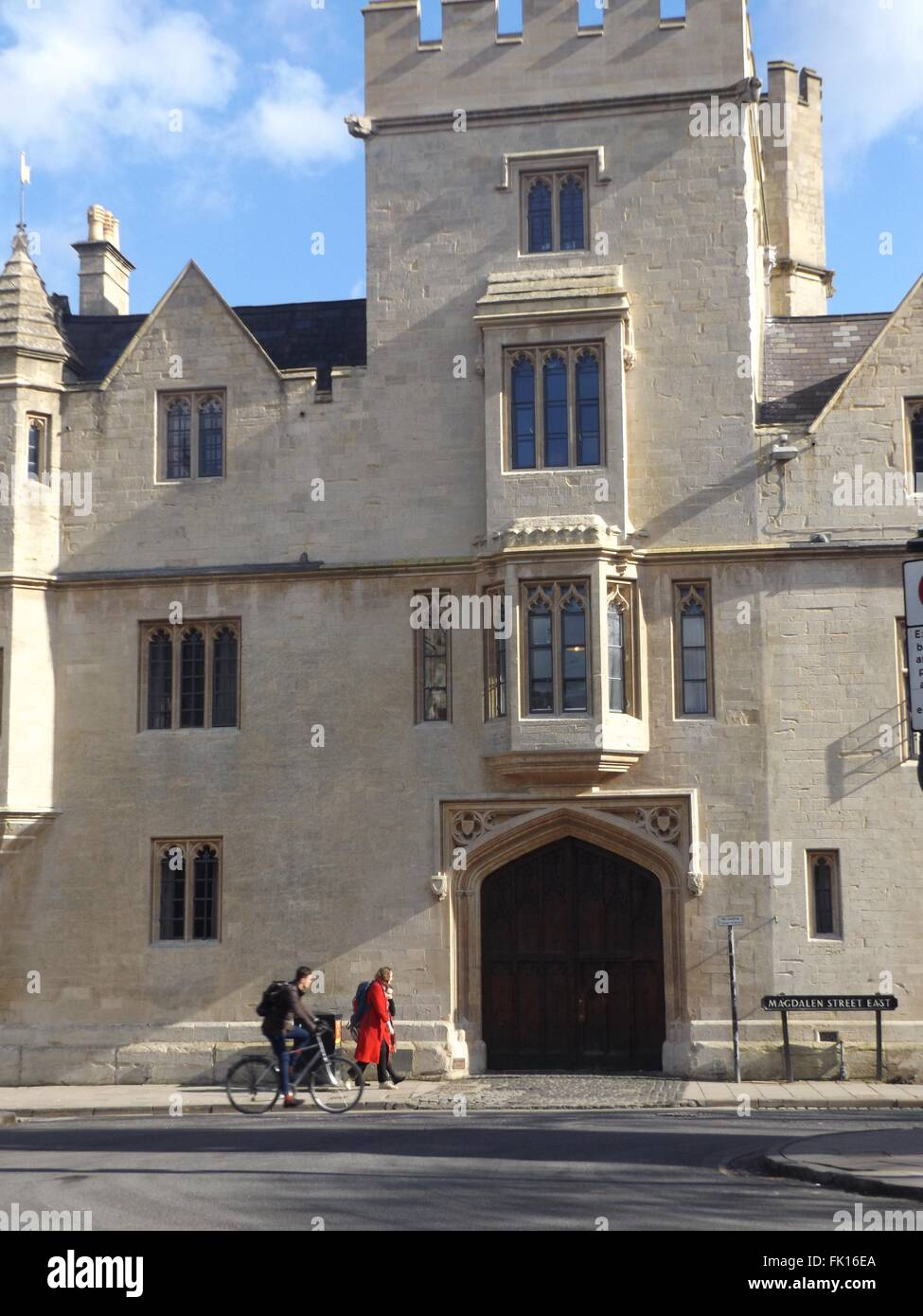 Balliol College, Oxford, UK - Stock Image