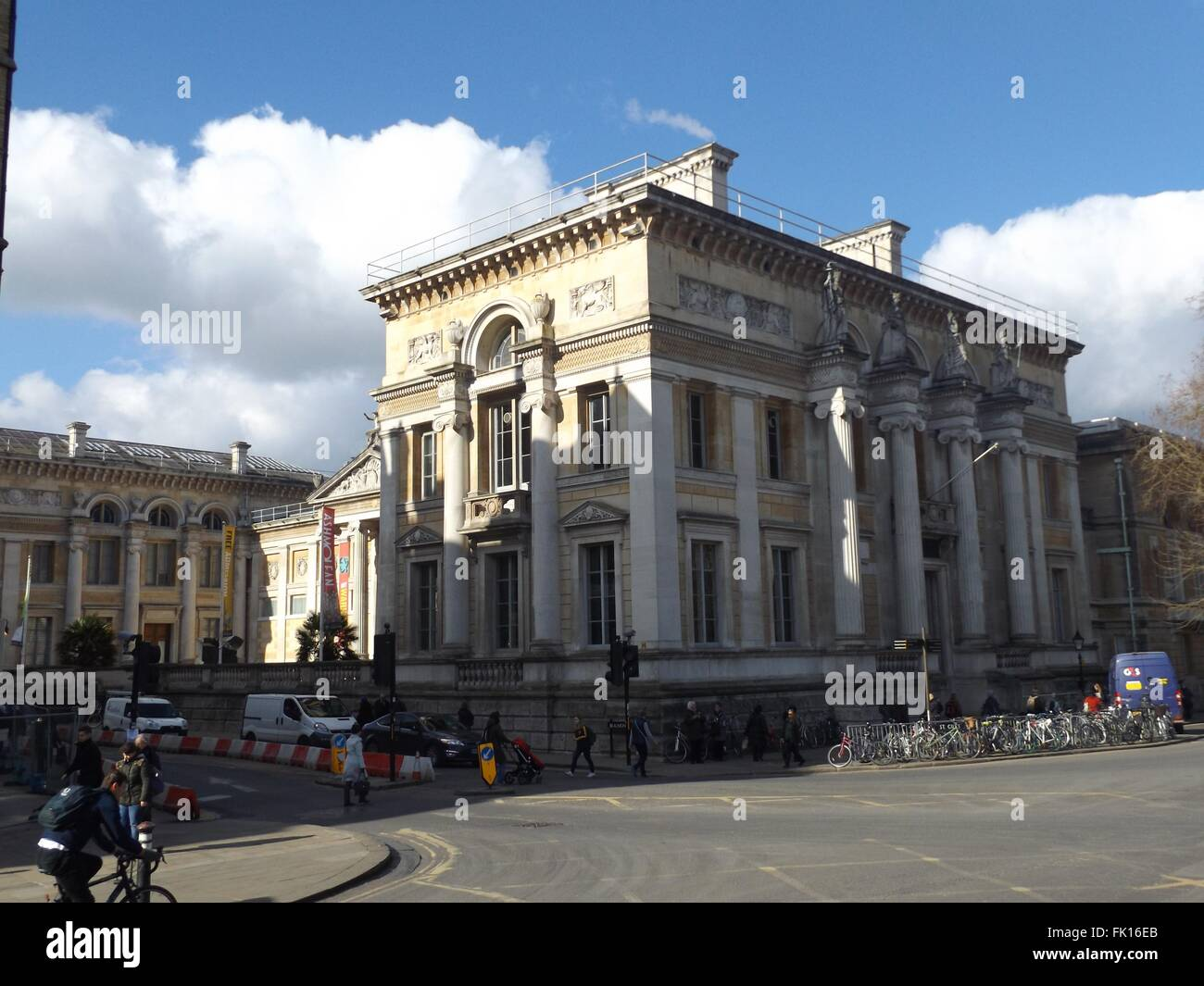 Ashmolean Museum, Oxford, UK - Stock Image