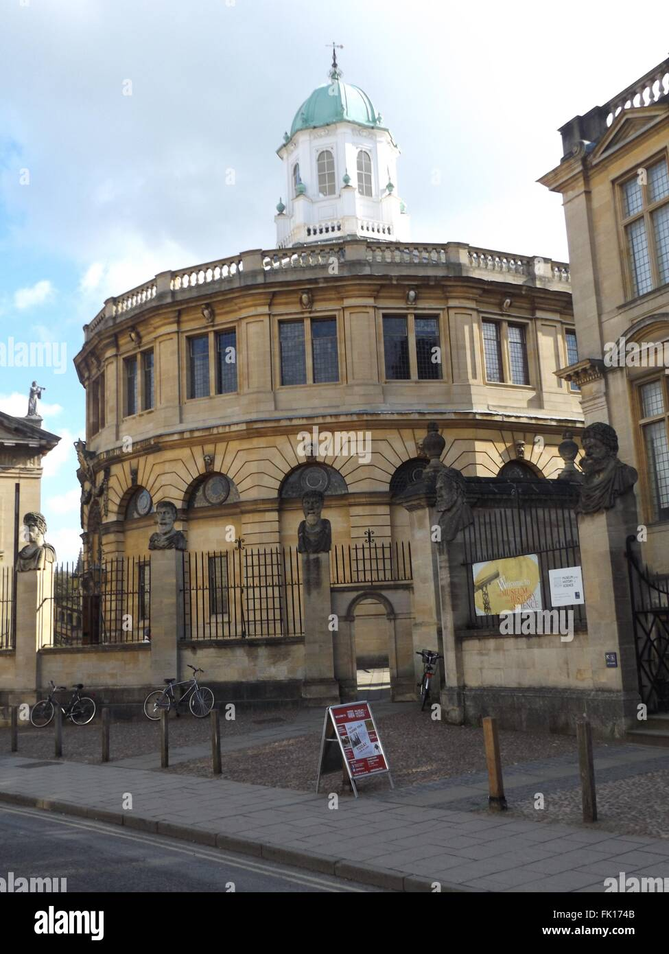 Sheldonian Theatre, Oxford, UK - Stock Image
