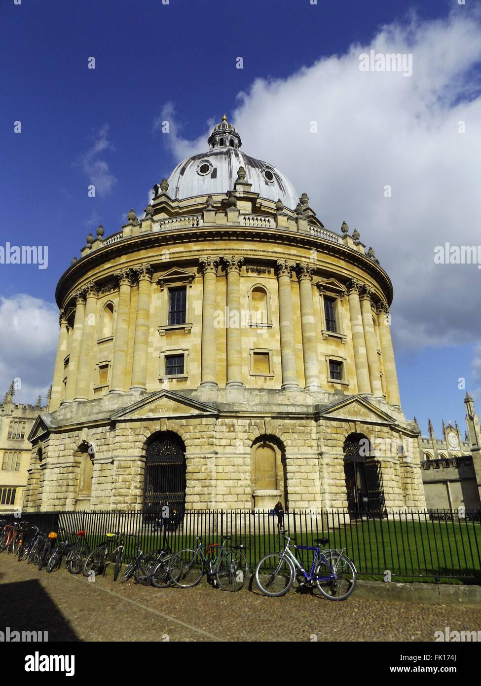 Radcliffe camera, Oxford, UK - Stock Image