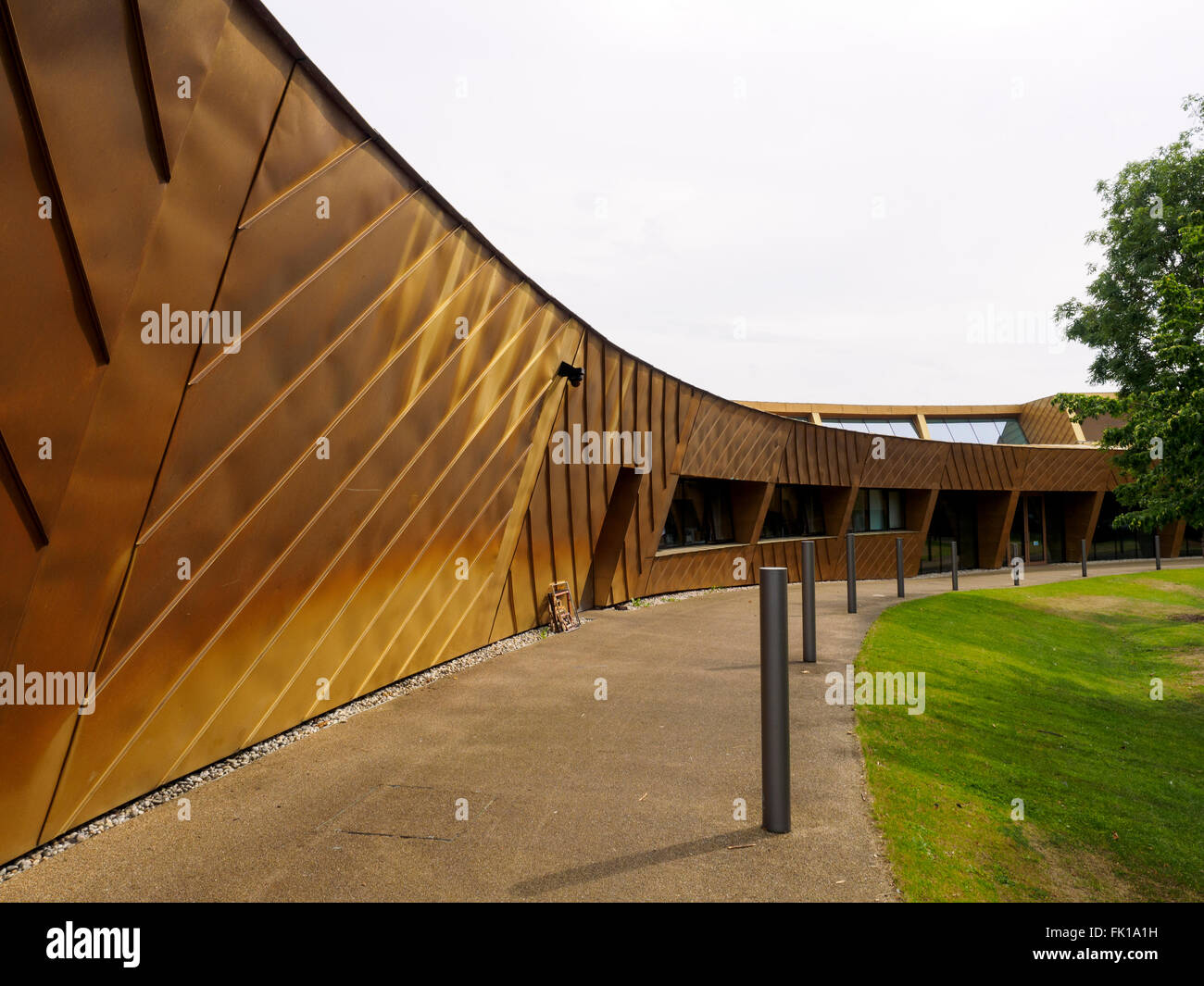 Firstsite Colchester centre for the visual arts - Colchester, Essex, England - Stock Image