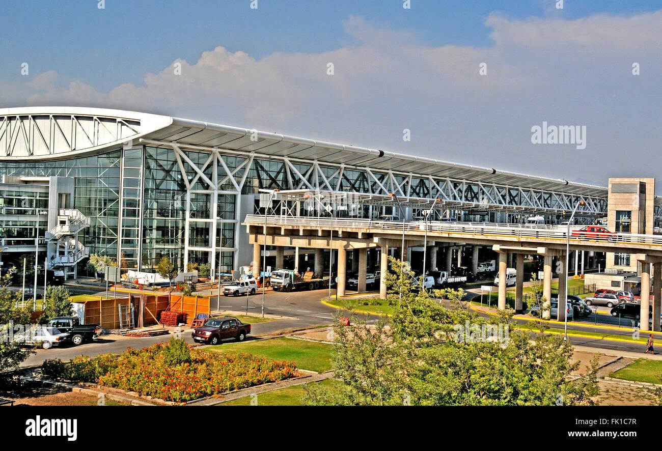 Arturo Benitez international airport Santiago Chile - Stock Image