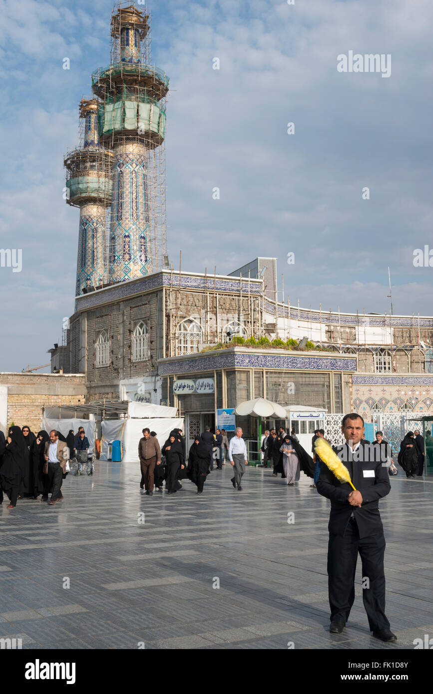Around the Shrine complex. Haram e Razavi. Mashhad. Iran. - Stock Image