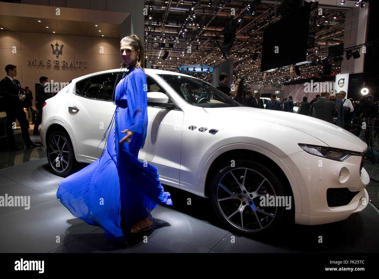 Maserati Levante SUV at the Geneva Motor Show 2016 - Stock Image