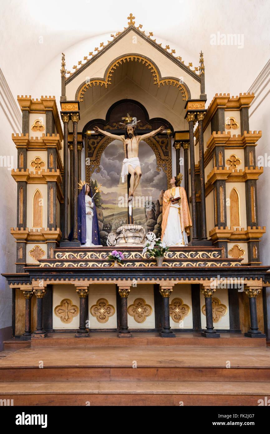 'El Señor de la Vera Cruz' Iglesia Parroquial de la Santísima Trinidad, Plaza Mayor, Trinidad, - Stock Image