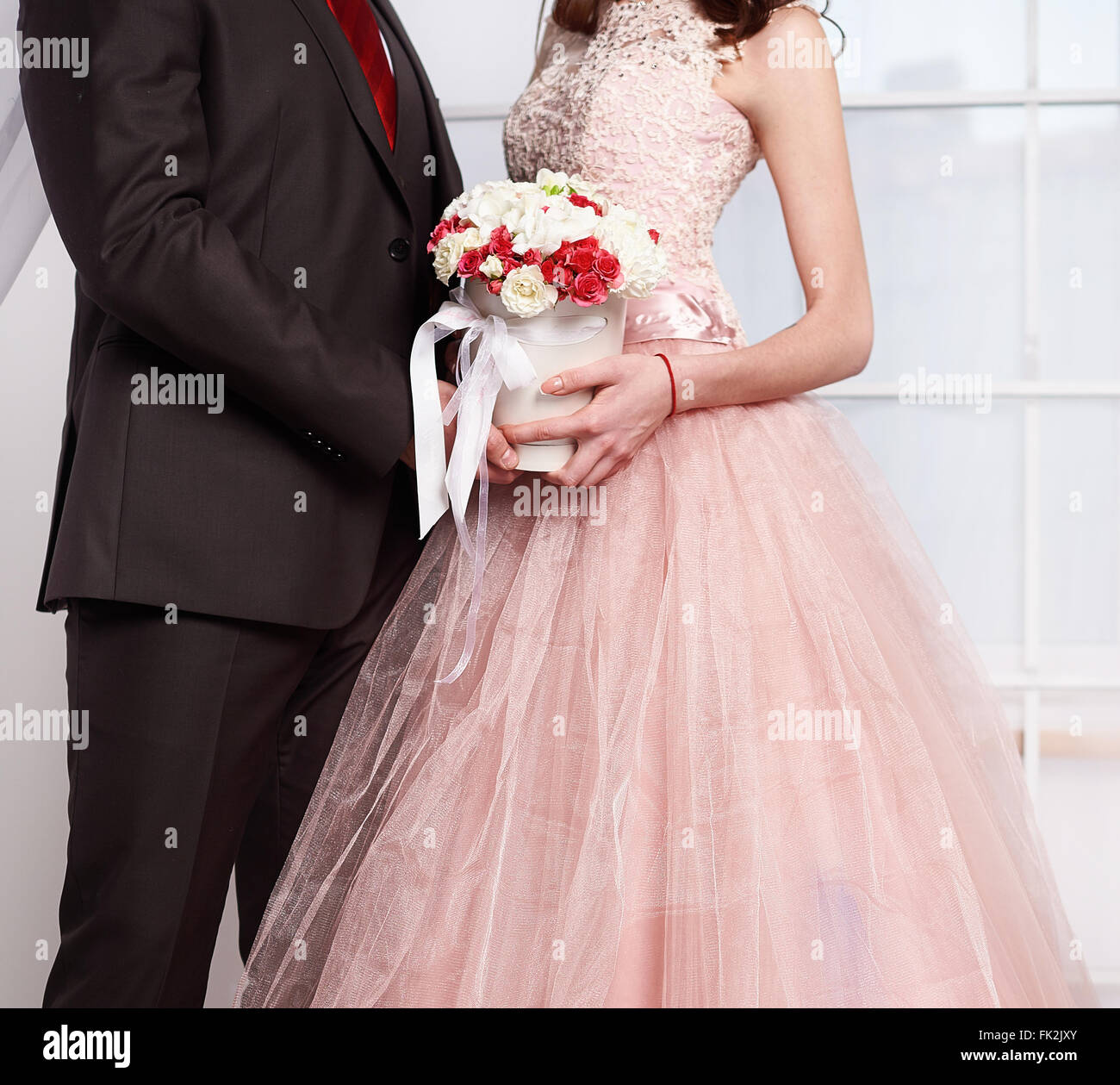 bride and groom - Stock Image