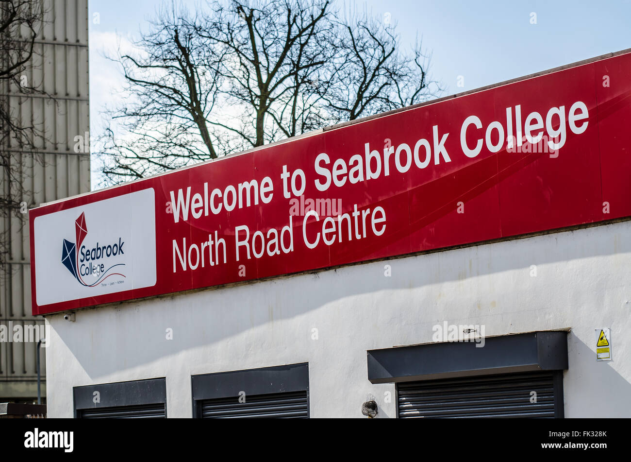 Seabrook College works in partnership with a wide range of agencies to provide high quality education for difficult - Stock Image