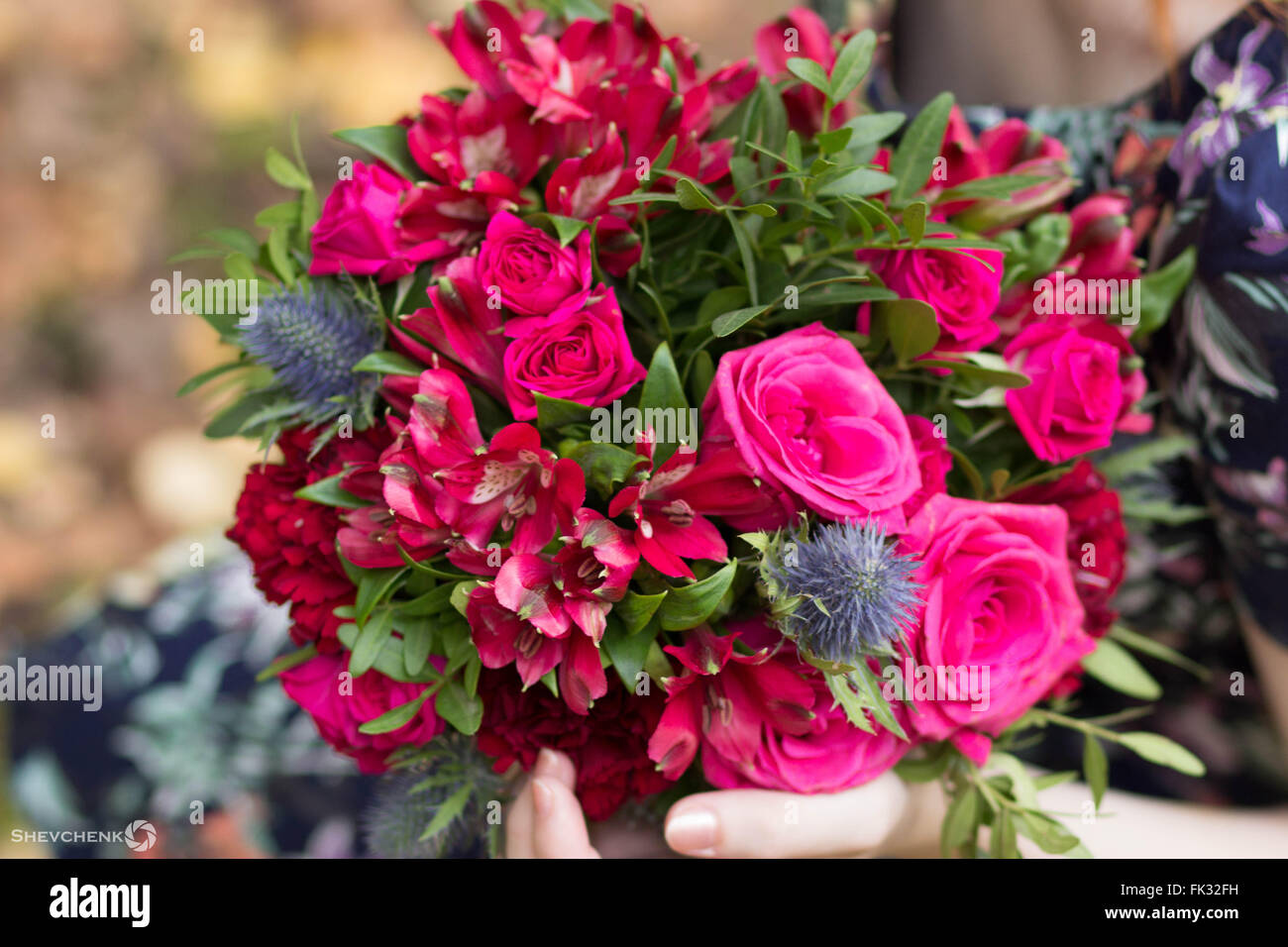 Pale dusty pink flowers stock photos pale dusty pink flowers stock nice bouquet with pink and fuchsia flowers stock image mightylinksfo
