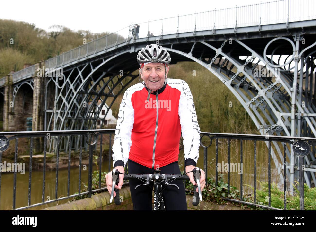Four times World Pursuit Champion cyclist Hugh Porter - Stock Image