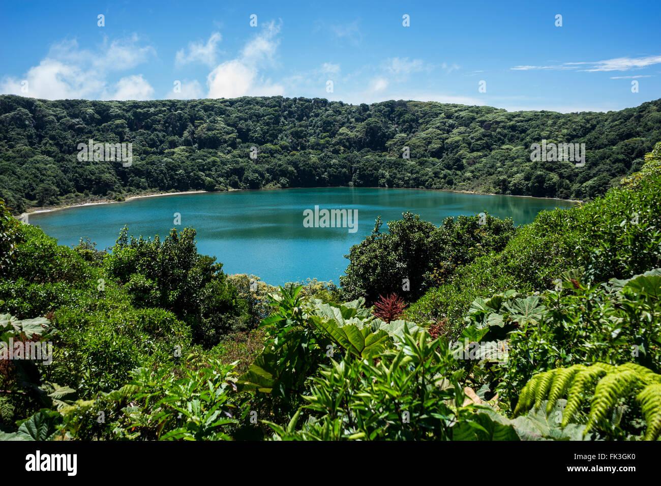 Lake Botos, Volcan Poas, Costa Rica - Stock Image
