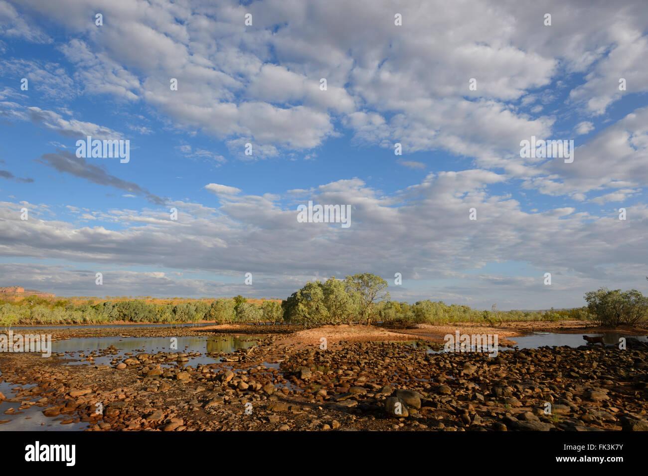 Pentecost Crossing, Kimberley Region, Western Australia, WA, Australia - Stock Image