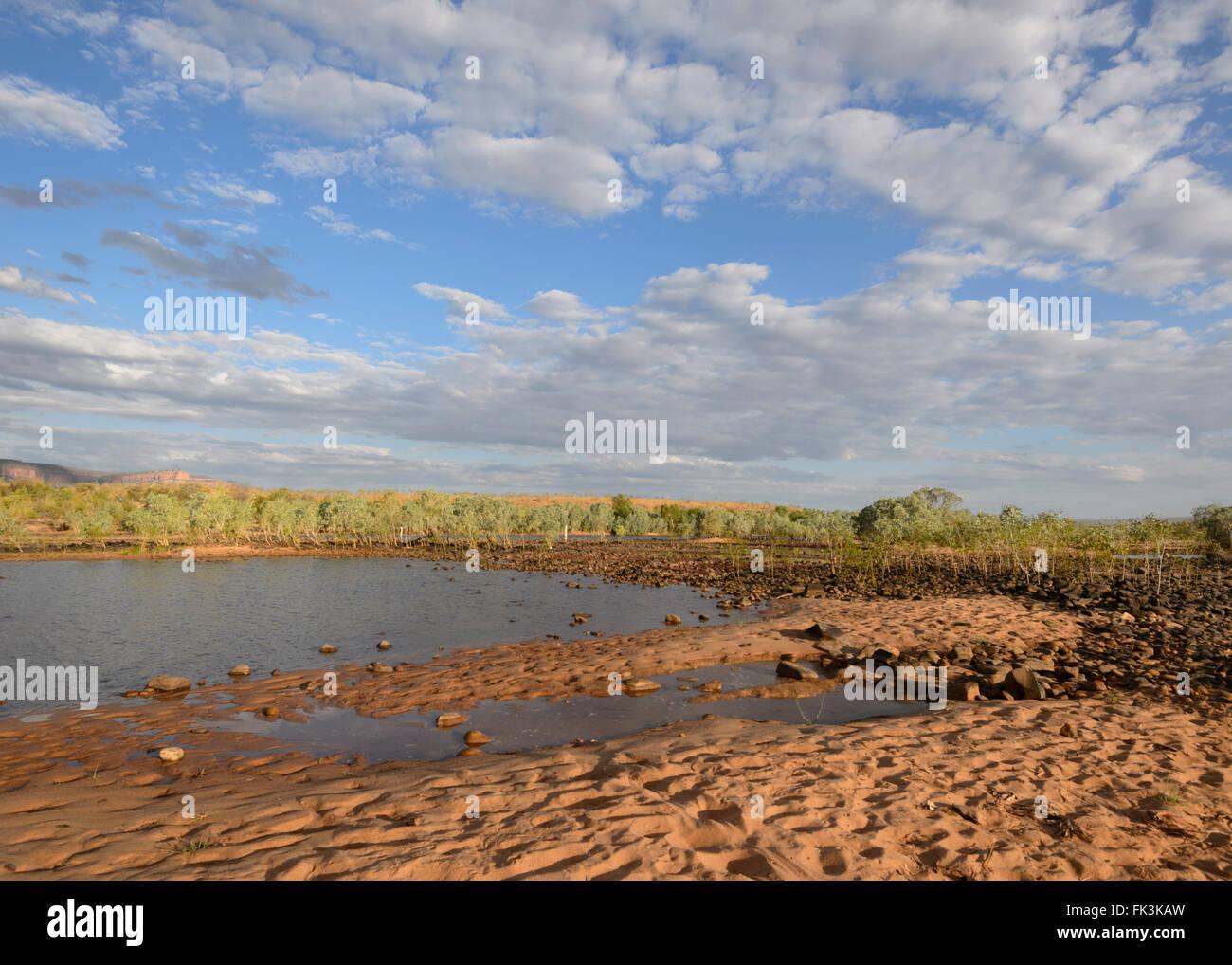 Pentecost Crossing, The Kimberley, Western Australia, WA, Australia - Stock Image