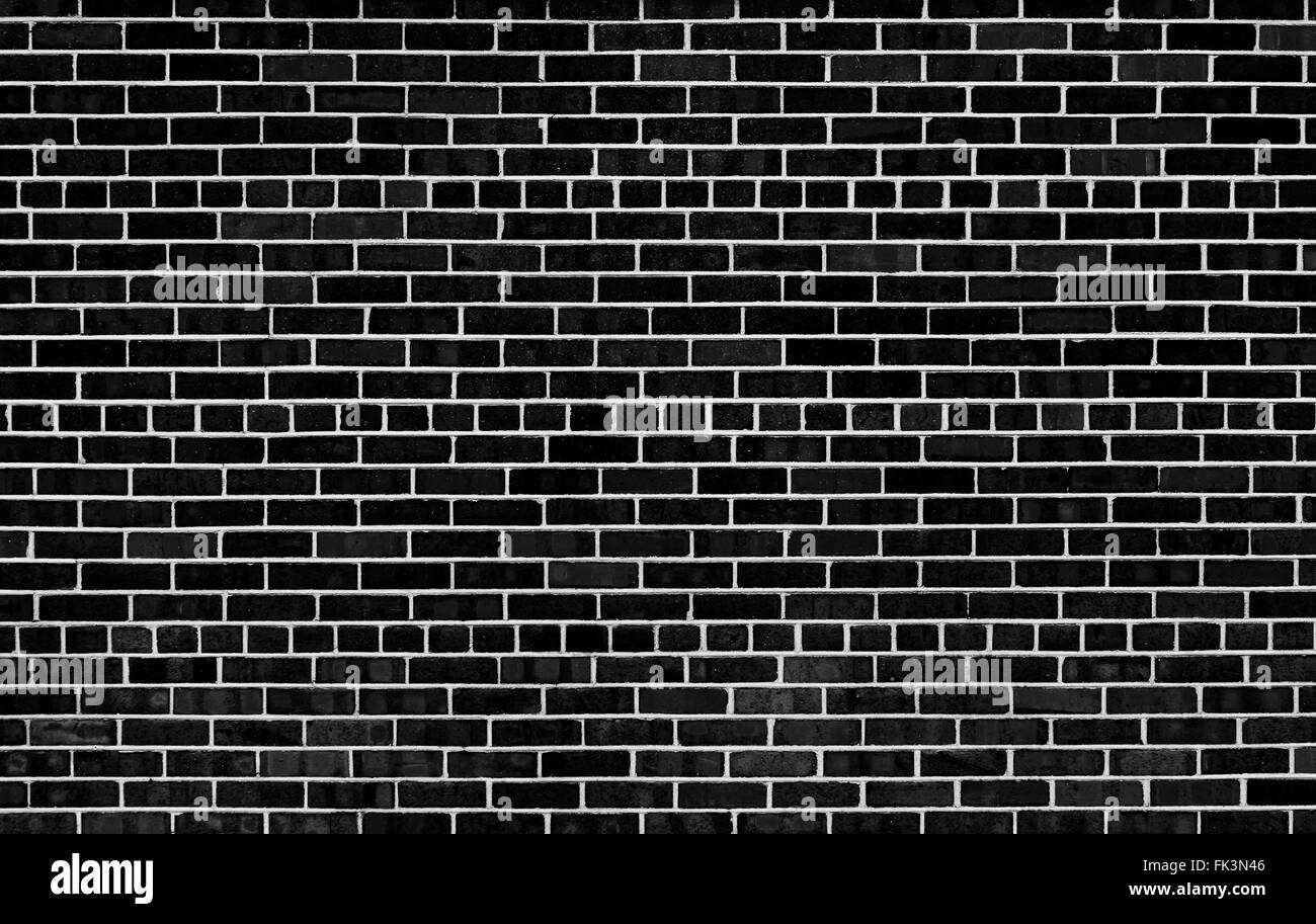 Brick Wall Black And White Stock Photos Images Alamy