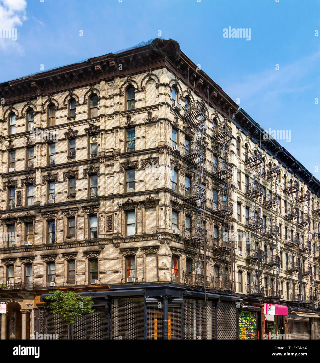 Apt In New York City: Old New York City Apartment Stock Photos & Old New York