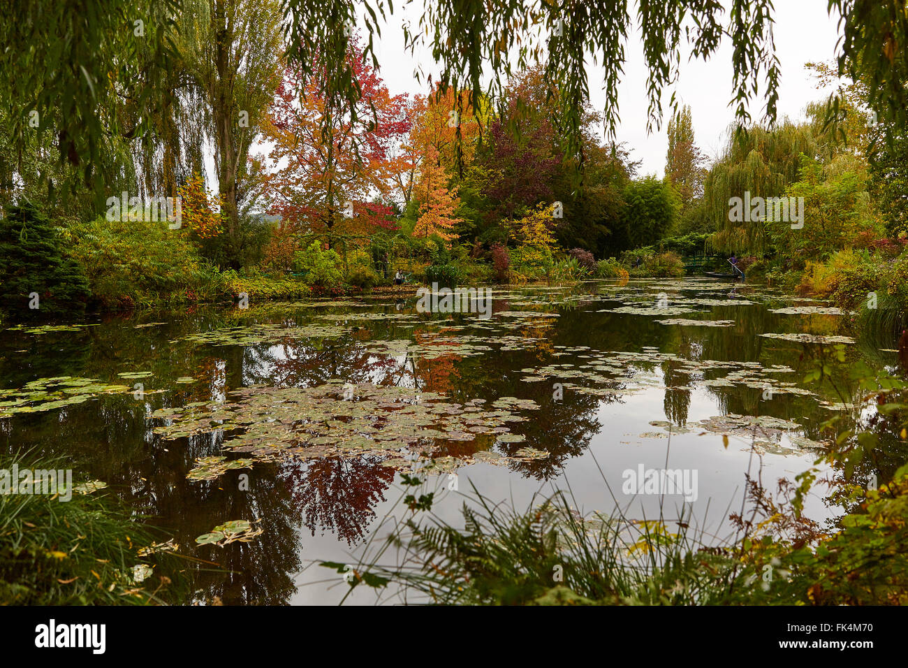 GIVERNY FRANCE MONET HOUSE GARDEN Stock Photo: 97833988 - Alamy