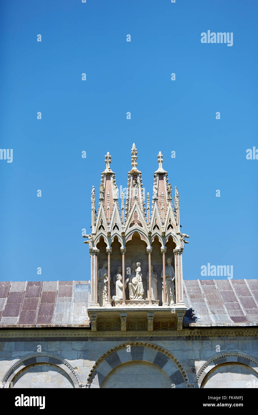 ITALY PISA ARCHITECTURE ARCHITECTURAL DETAIL - Stock Image