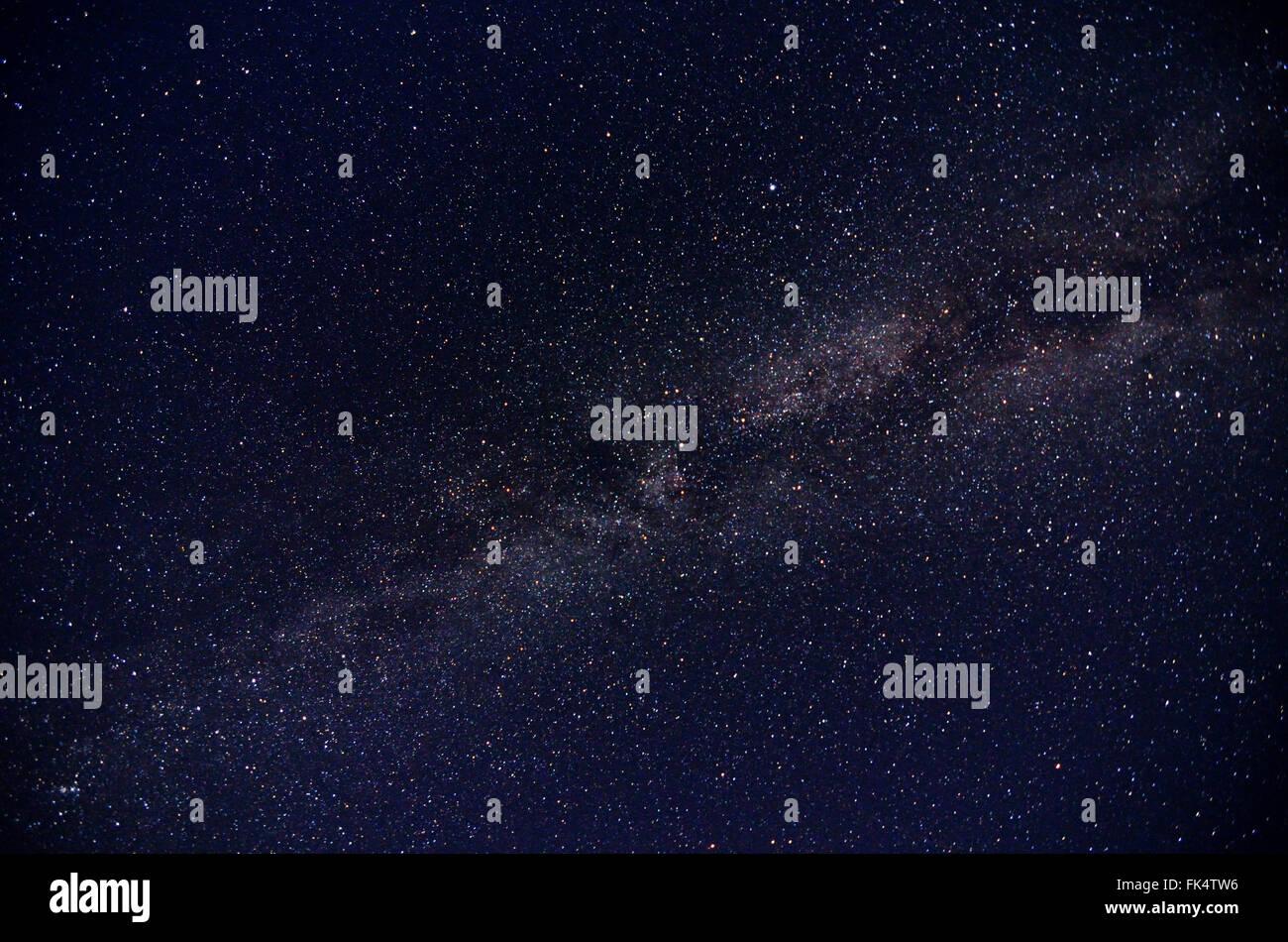 Milky way galaxy - Stock Image