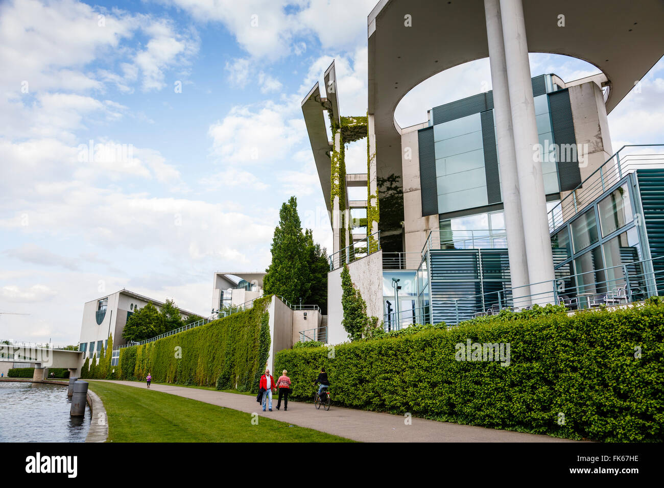 Band des Bundes, the Government Ministries complex, Tiergarten, Berlin, Germany, Europe - Stock Image
