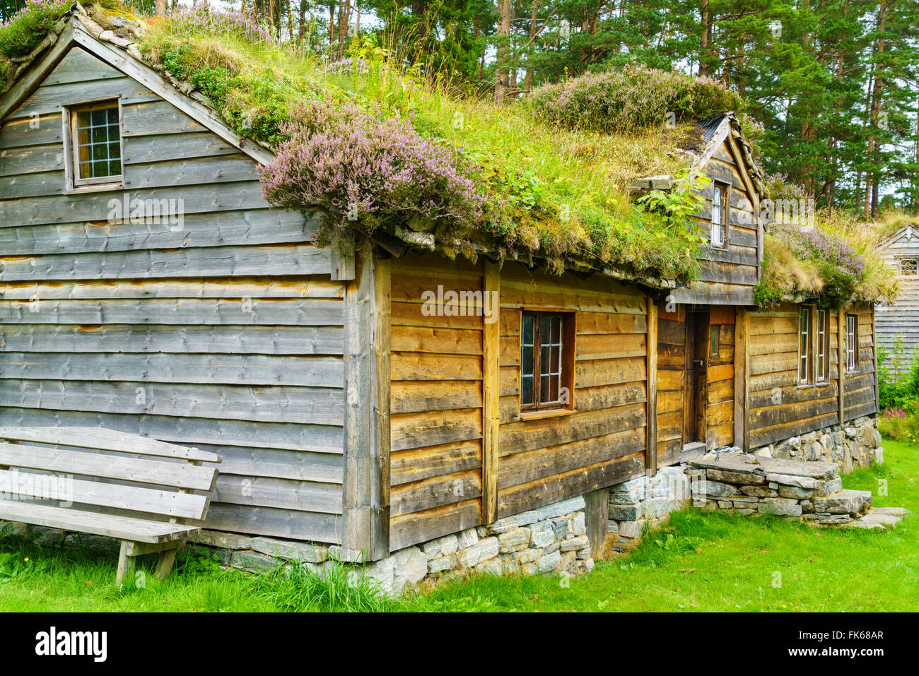Sunnmore Museum, Alesund, More og Romsdal, Norway - Stock Image