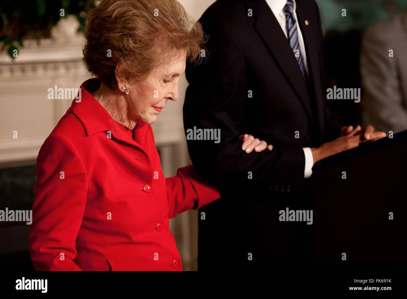 Anne Duarte Escort mrs ronald reagan high resolution stock photography and