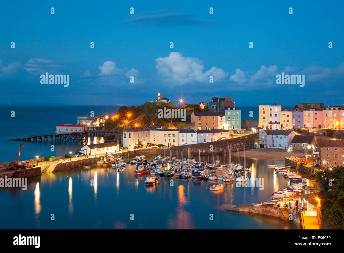 Tenby, Pembrokeshire, Wales, United Kingdom, Europe - Stock Image