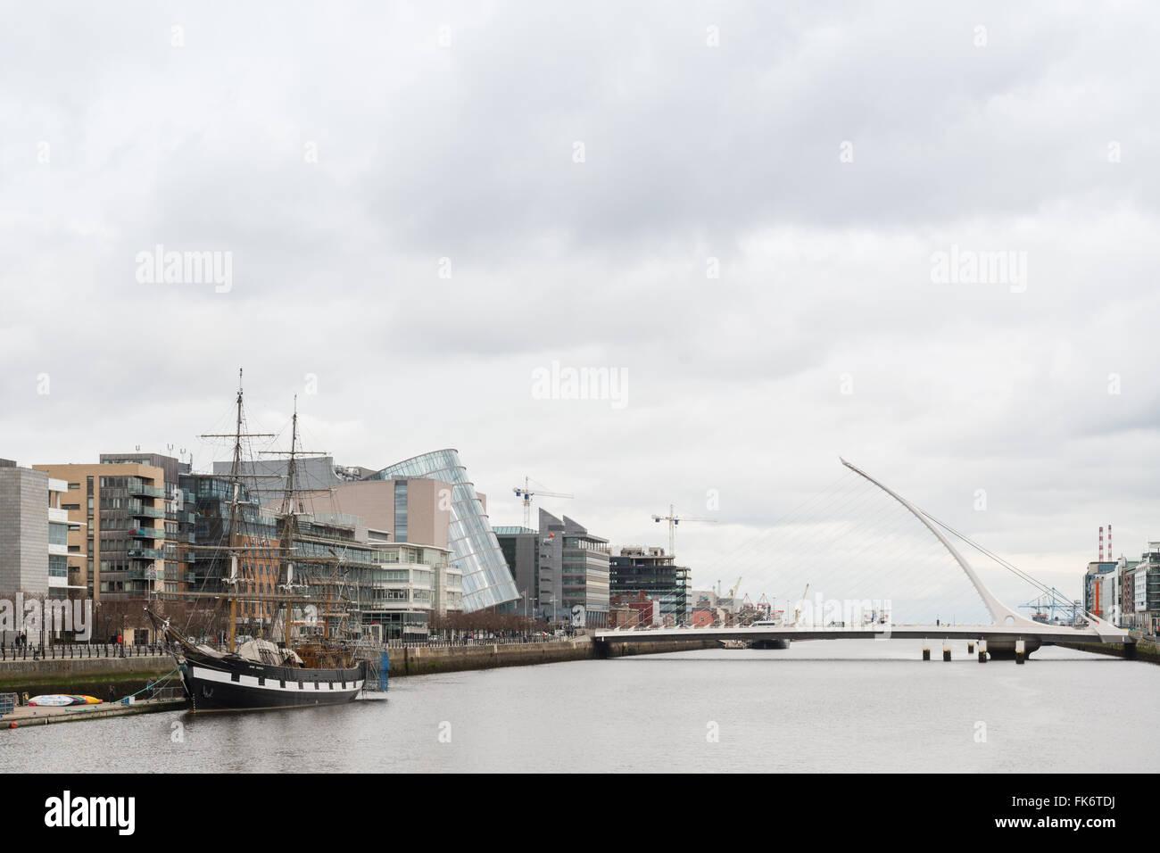 Dublin Docklands - Stock Image