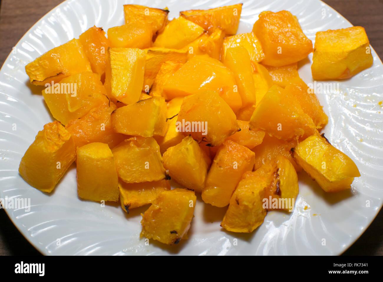 people vegetable healthy pumpkin food eating nature Stock Photo