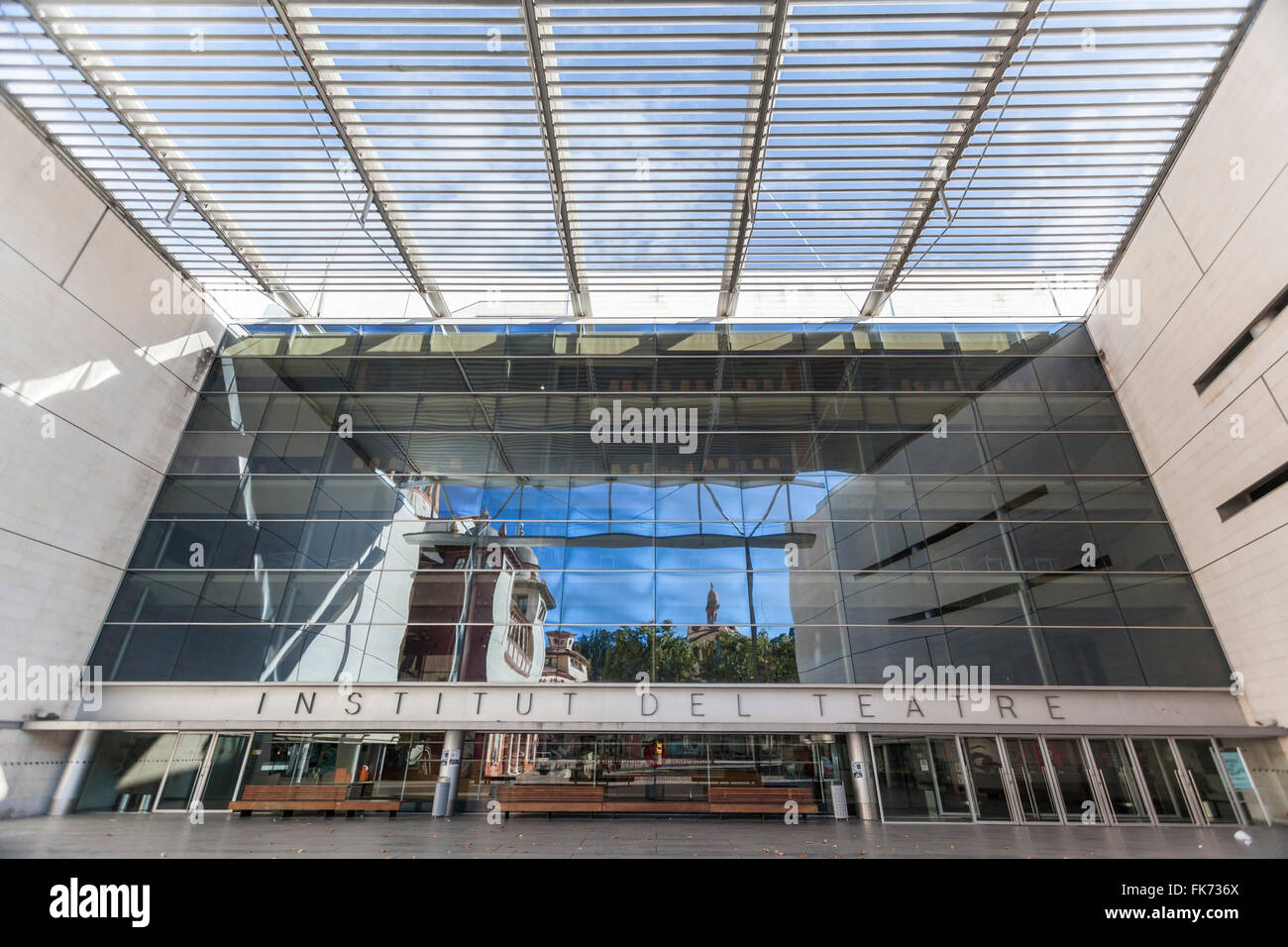 Institut del Teatre, Barcelona. - Stock Image