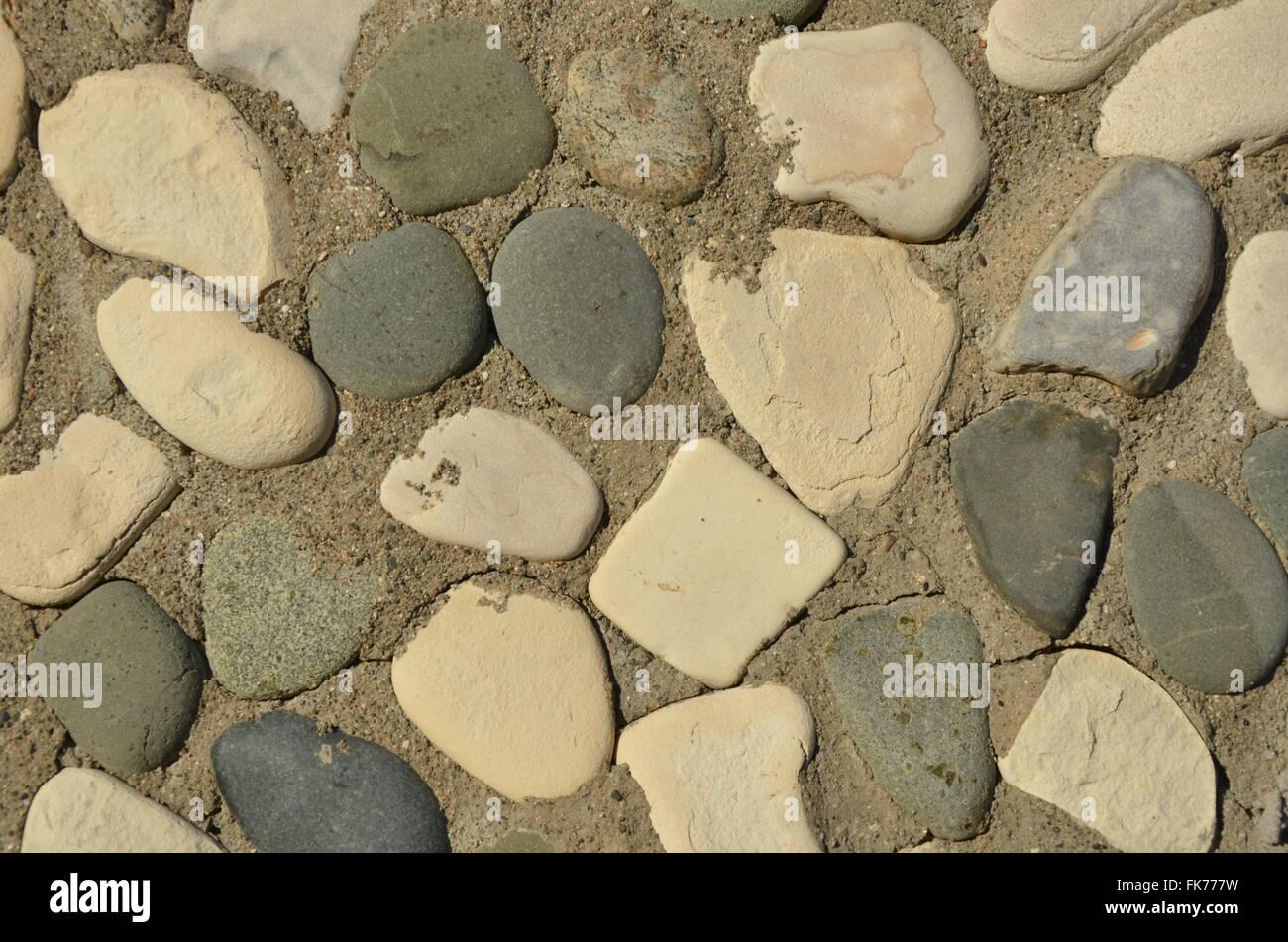 Pebble Mosaic Art Or Artwork Stock Photos & Pebble Mosaic Art Or ...