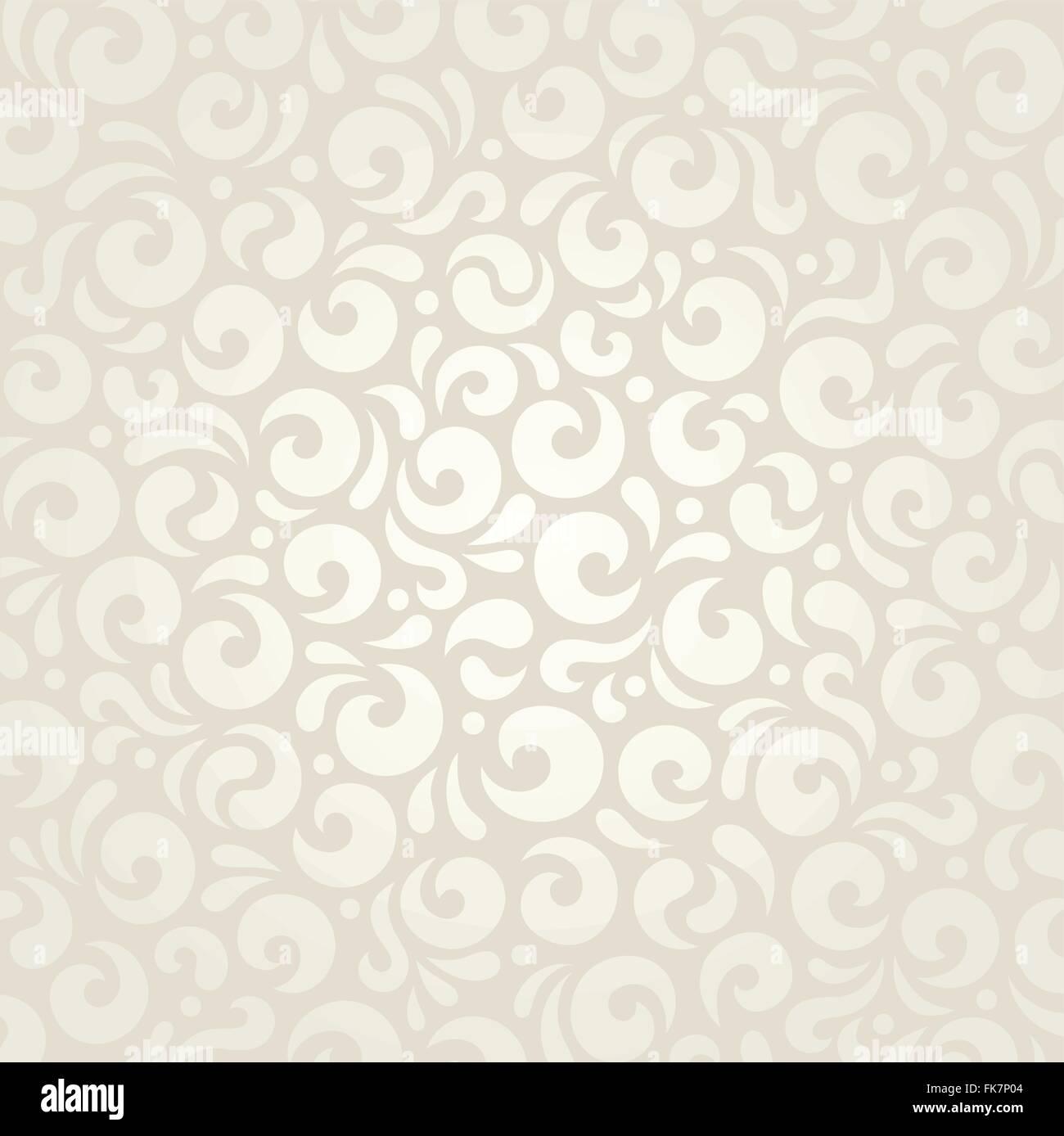 Wedding Retro Pale Wallpaper Decorative Pattern Design Stock Vector