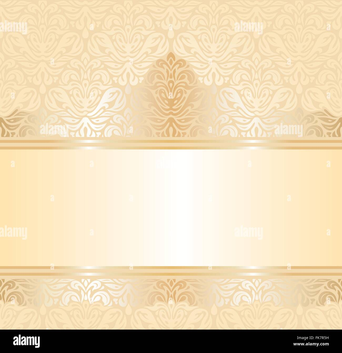 gentle wedding pale peach invitation  background design - Stock Vector