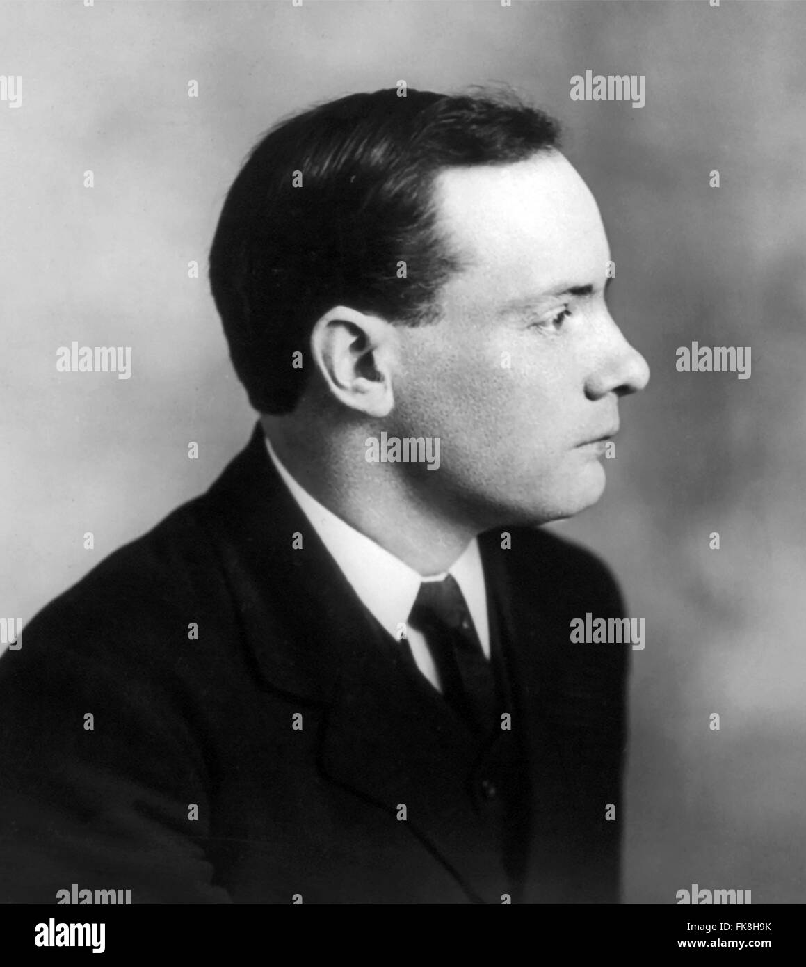 Patrick Pearse, the Irish teacher, barrister and political activist who was one of the leaders of the Easter Rising, - Stock Image