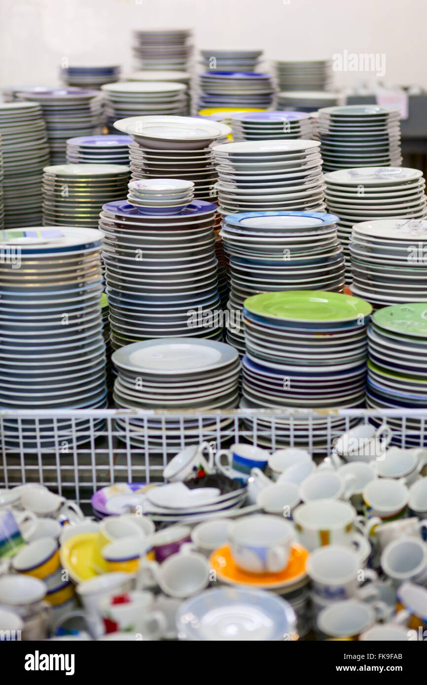 Schmidt manufactures porcelain shop founded in 1945 - Stock Image