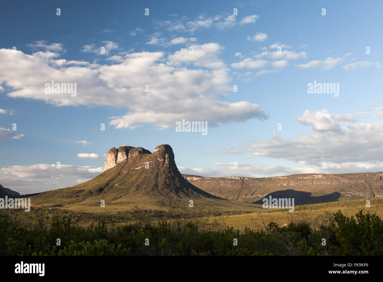 Mount Tabor better known as ergot - Location of Caete-Acu - Stock Image