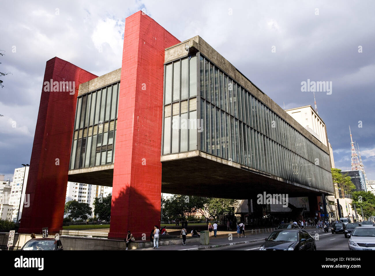 Masp Museum Of Art Sao Paulo Assis Chateaubriand On Paulista Avenue Founded In 1947