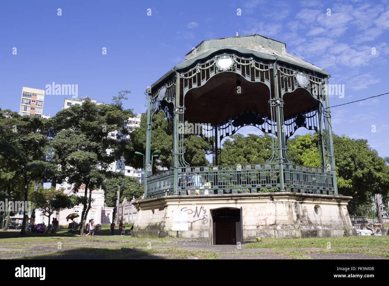 Bandstand Praca da Republica - city center - Stock Image