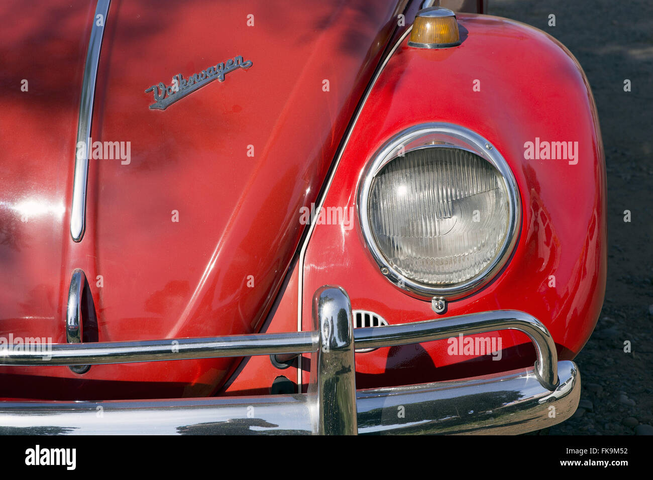 Detail of VW-1960s - Stock Image