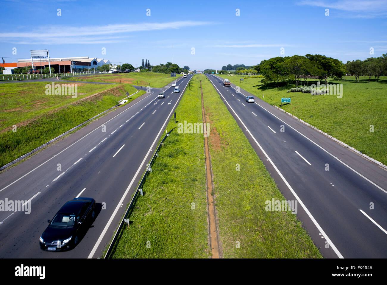 SP-308 Highway of Sugar - Stock Image